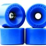 Kryptonics Star Trac Re-Issue Skateboard Longboard Wheels 75mm 82a Blue Review