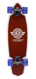 Kryptonics Mini Wings Cruiser Complete Skateboard Review