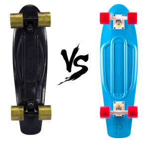 Kryptonics Torpedo Skateboard vs Penny Board