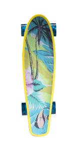 Kryptonics Yellow Hawaiian Original Torpedo Complete Skateboard 22.5 x 6-Inch Review