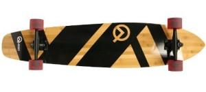 Quest Super Cruiser Artisan Bamboo Longboard 44 inch Skateboard Review