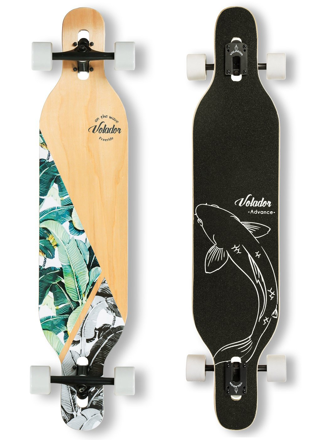 Volador 42 inch Freeride Longboard Detailed Review